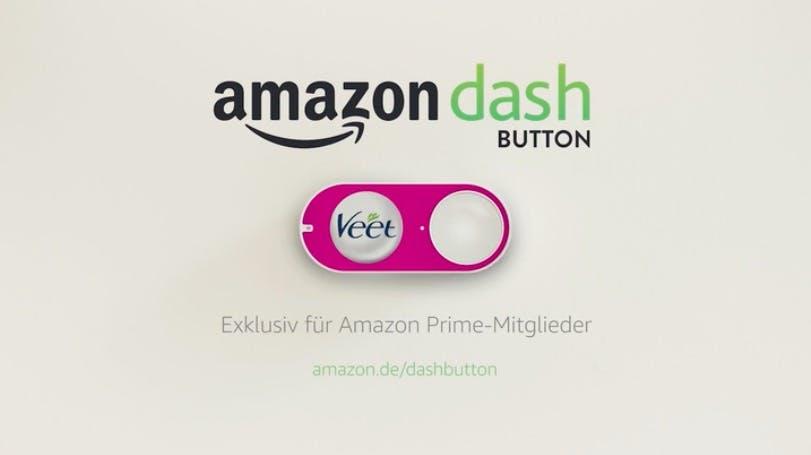 Adieu, Amazon-Dash-Button, du Dinosaurier unter den Nachfülldiensten