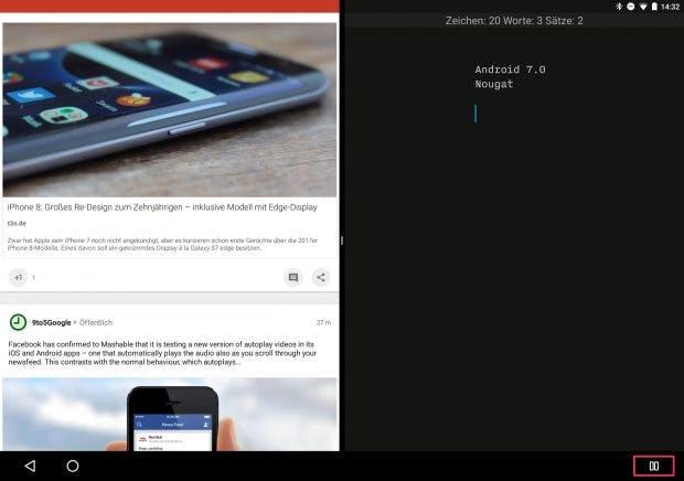 Auf dem Pixel C oder einem anderen Tablet macht das Ganze mehr Sinn. (Screenshot: t3n)