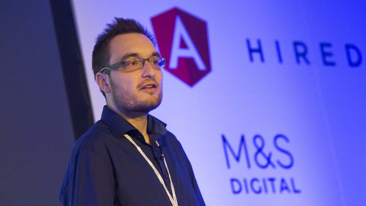 AngularJS-Experte Manfred Steyer. (Foto: softwarearchitekt.at)