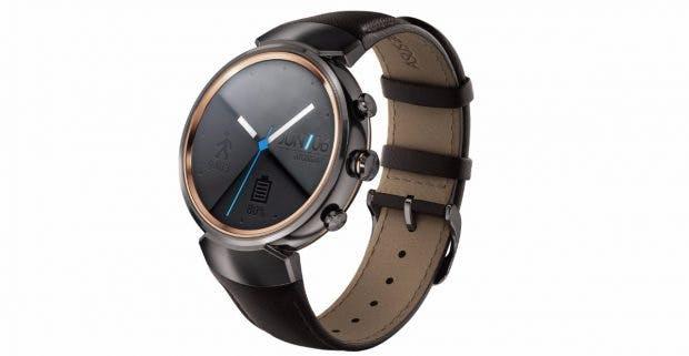 Zenwatch 3: Die neue Smartwatch von Asus kommt in drei verschiedenen Farbvarianten auf den Markt. (Grafik: Asus)