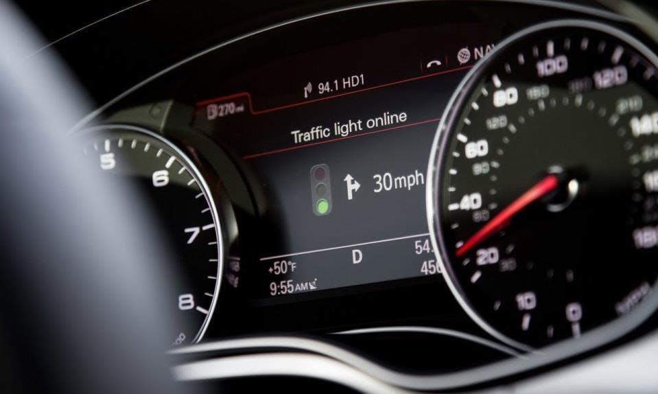 Audi will mit Ampeln sprechen – und so Sprit sparen