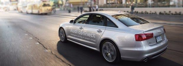 Entspannt durch die Stadt gondeln und Sprit sparen: Ampelinfo online von Audi soll das ermöglichen. (Bild Audi)