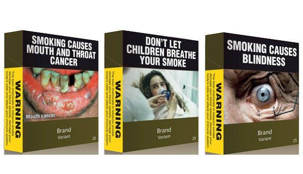 Die Farbe und die Bilder, puh... (Fotos: Cancer Research UK)