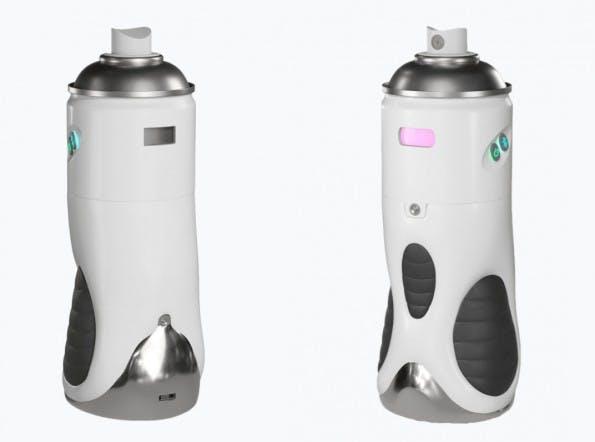 Das Cronzy Spray wirkt auf mich, als hätte es Extra3 oder die Heute-Show entworfen. (Quelle: Cronzy Inc.)