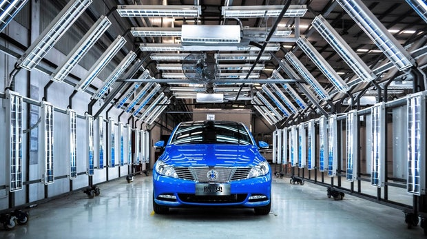 400 Kilometer Reichweite: Daimler stellt neues Elektroauto vor