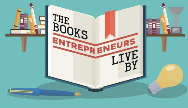 12 Bücher, die von erfolgreichen Entrepreneuren empfohlen wurden. (Infografik: Unum)