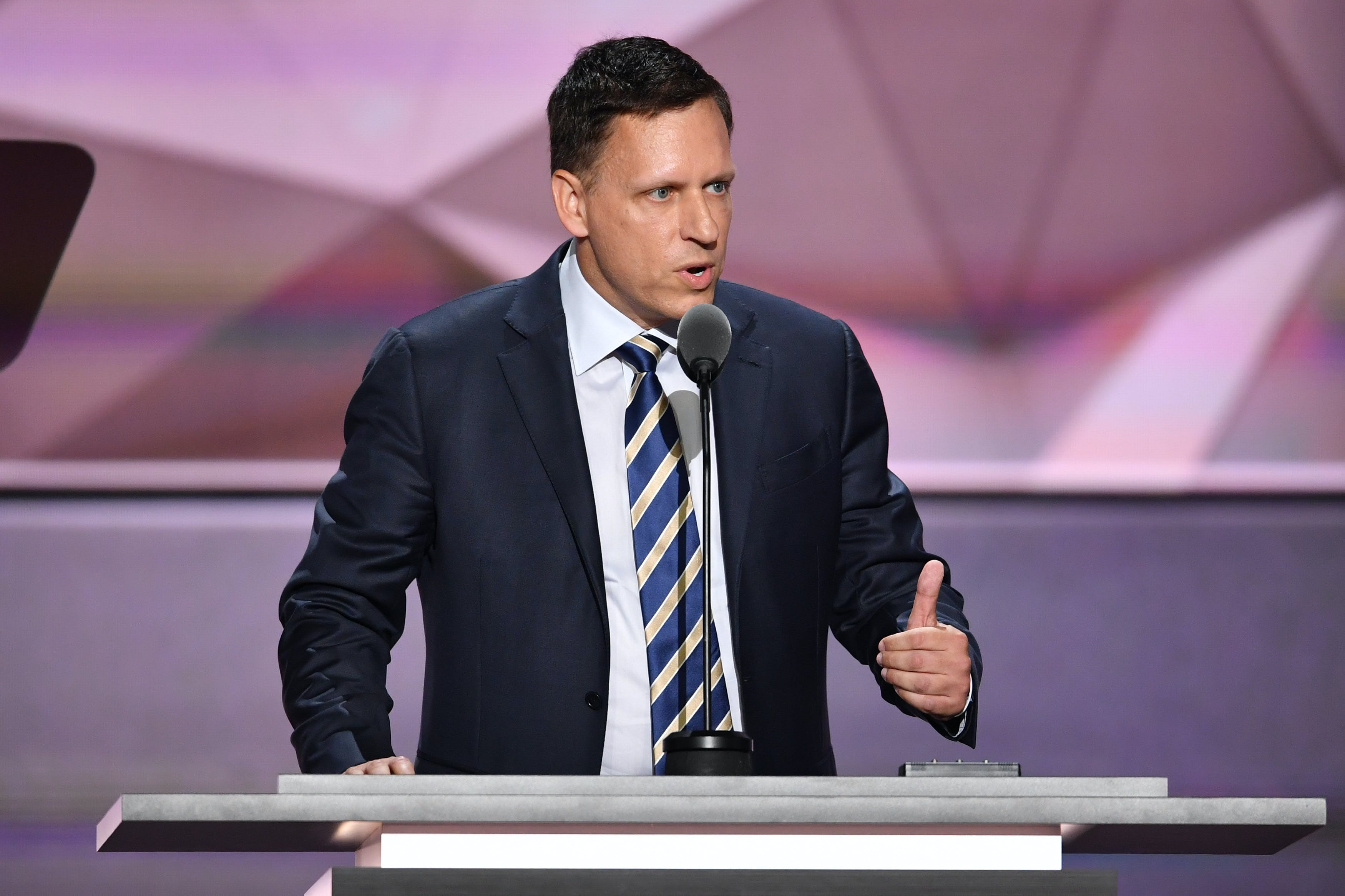 Peter Thiel verlässt das Silicon Valley