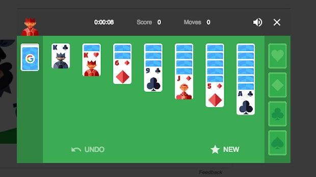 Google-Easteregg: Jetzt Tic-Tac-Toe und Solitaire direkt in der Suche spielen