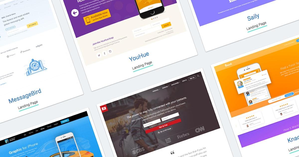 So geht Webdesign: UI Temple sammelt gelungene Beispiele | ❤ t3n