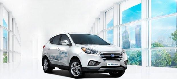 Hyundai experimentiert nicht, sondern stattet ein etabliertes Design mit Brennstoffzelle aus. (Foto: Hyundai)