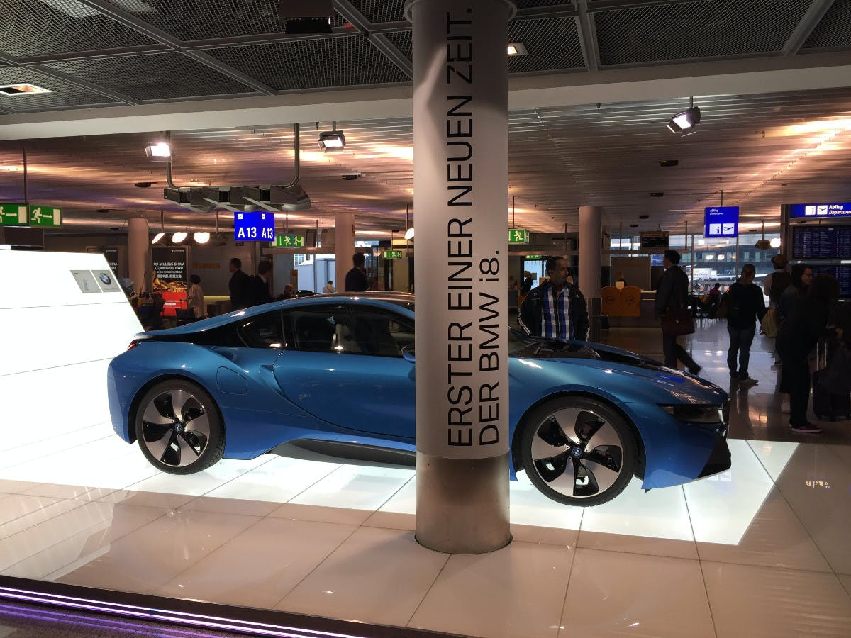 BMW i8 Shot