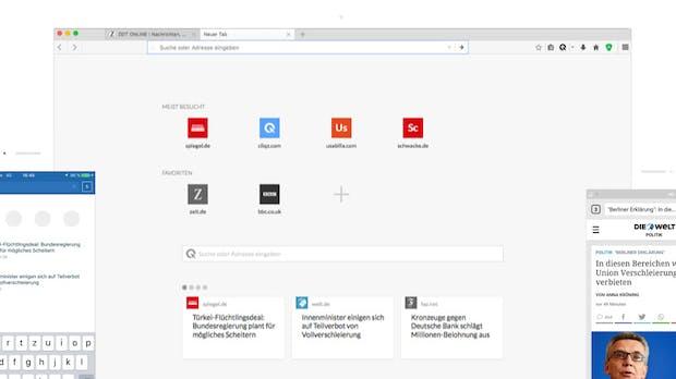 Mozilla investiert in deutschen Browser Cliqz
