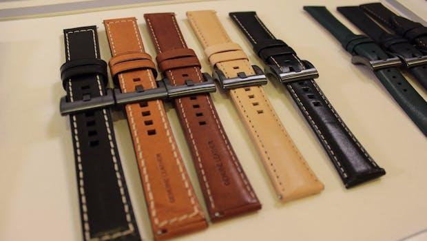 Die Samsung-Gear-S3-Modelle können mit zahlreichen Armbändern kombiniert werden. (Foto: t3n)