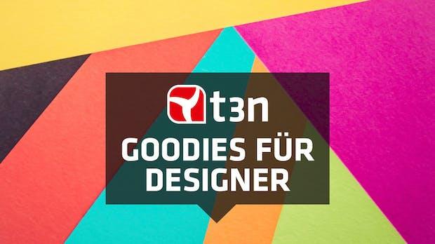Jeden Monat neu: Freebies, Fonts, Tools und News für Designer