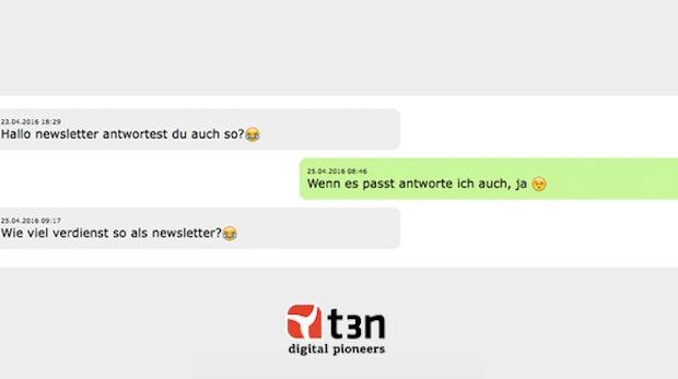 Witzig, versaut, frech: Wenn t3n-Leser sich mit dem Whatsapp-Newsletter unterhalten