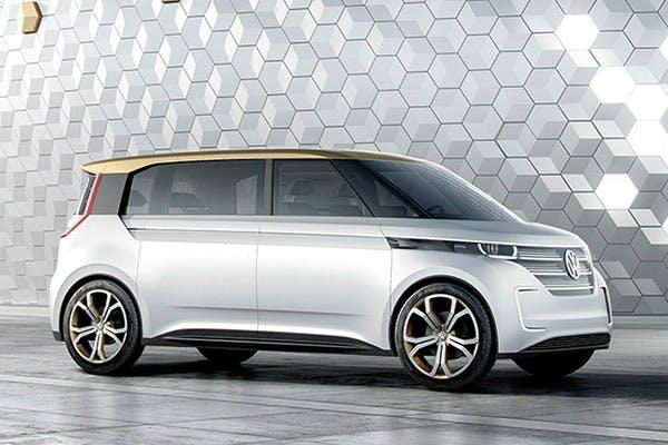 VW-Elektroauto-Konzept Budd-e. (Bild: Volkswagen)