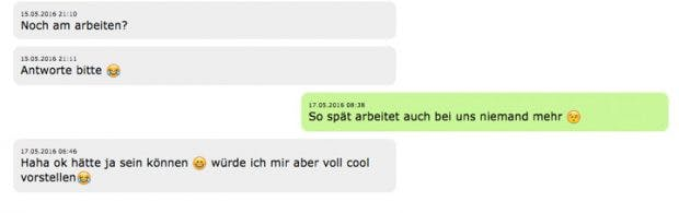 Whatsapp-Fail: (Screenshot: t3n.de)