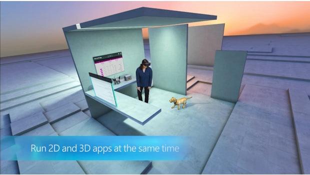 Windows Holographic. (Bild: Microsoft)