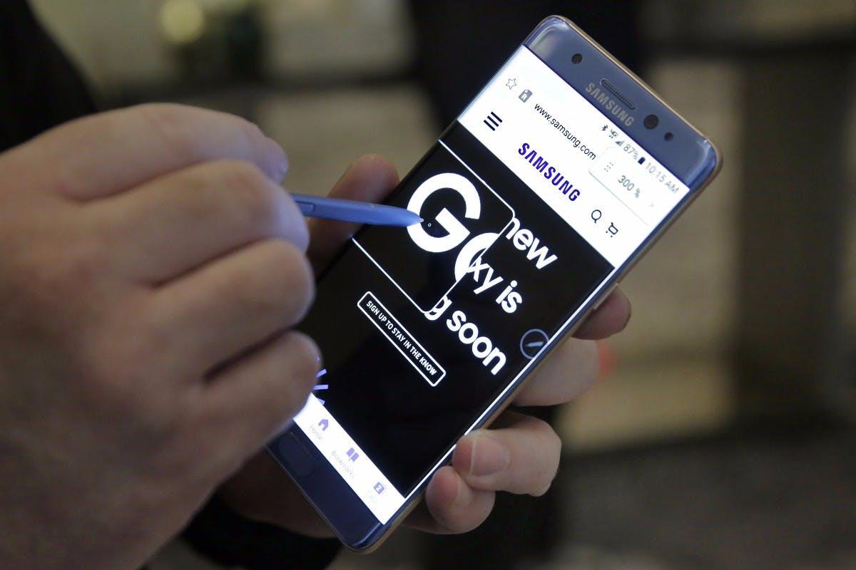 Recycling-Programm von Samsung: Galaxy Note 7 sollen wieder verkauft werden