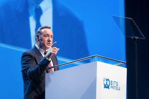 Bits and Pretzels legt Partnerschaft mit Kevin Spacey auf Eis