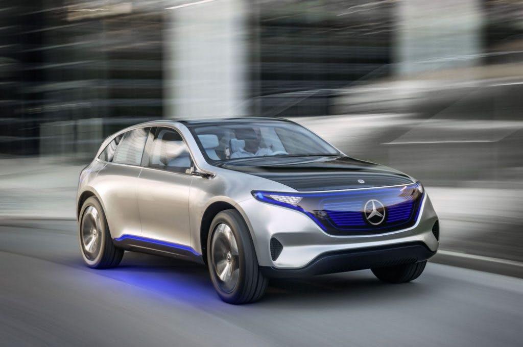 Die Generation EQ bringt einen reinen Elektro-SUV hervor. (Foto: Mercedes)