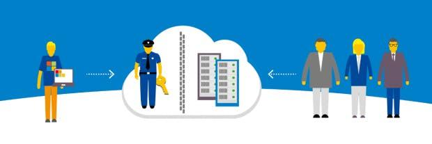 Azure Deutschland: Als Datentreuhänder für die deutsche Microsoft-Cloud fungiert T-Systems. (Bild: Microsoft)