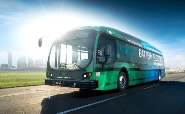 Proterra Catalyst E2: Elektrobus kommt 2017 auf die Straße. (Bild: Proterra)