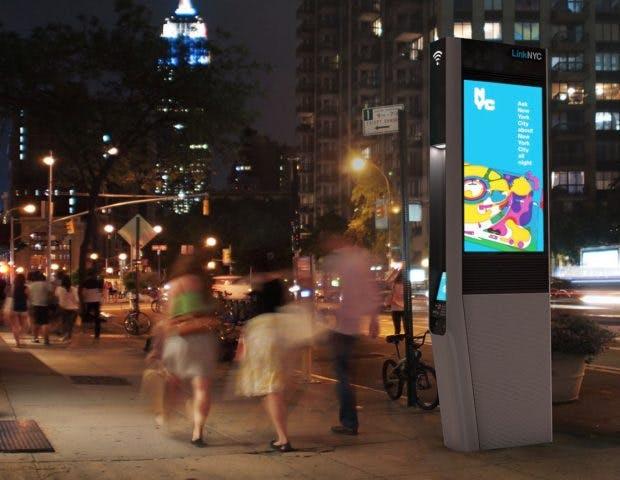 Gratis-WLAN-Hotspots in New York nach Missbrauch eingeschränkt. (Bild: LinkNYC)