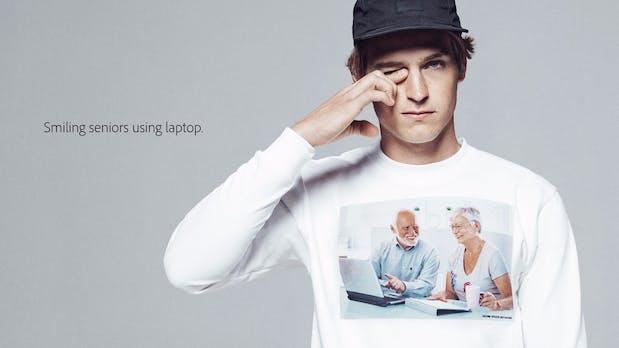 Stockfoto-Wahnsinn: Adobe druckt jetzt die schlimmsten Bilder auf T-Shirts