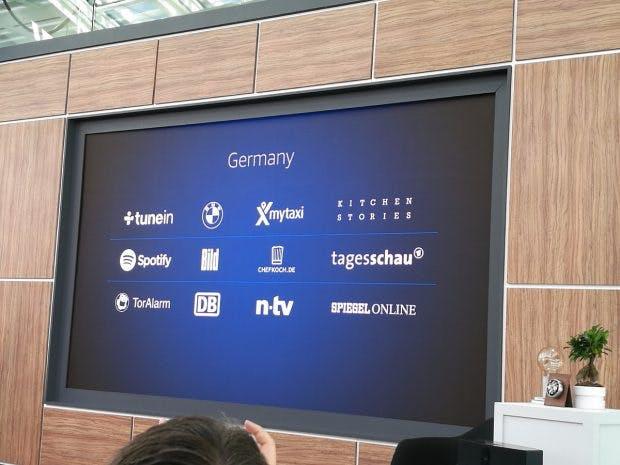 Amazon Echo startet in Deutschland mit einigen Partnern. (Foto: t3n)