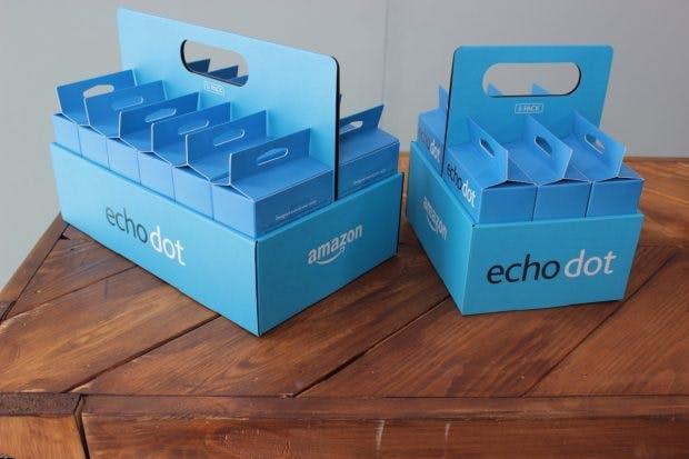 Den Echo Dot gibt es auch im hübschen Bundle. (Foto: t3n)