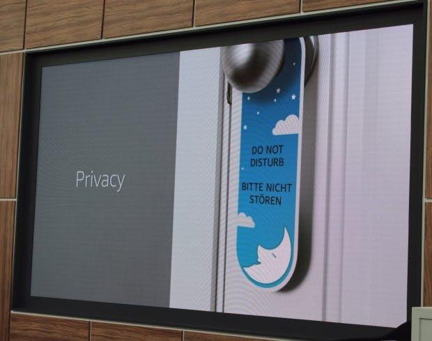 Privatsphäre spielt bei Amazon Echo eine große Rolle. (Foto: t3n)