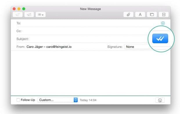 Verfolgen ob die Mail schon gelesen worden ist. (Screenshot: Mailbutler)