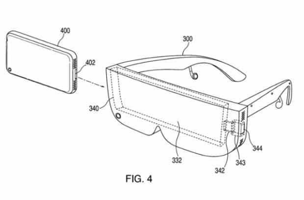 Apple hat schon ein Patent für eine VR- oder AR-Brille zugesprochen bekommen. (Bild: RoadtoVR)