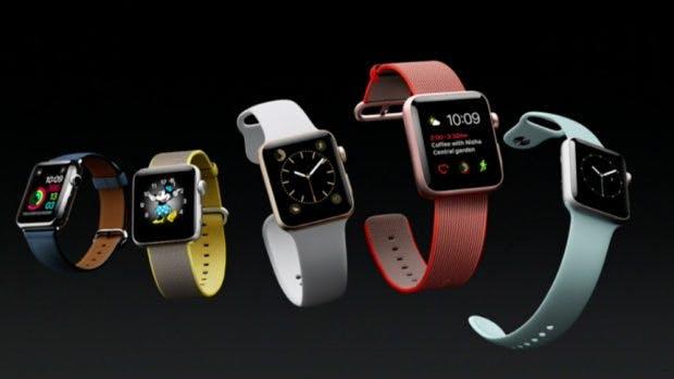 Die Apple Watch Series 2 kann auch beim Schwimmen getragen werden. (Screenshot: Apple)
