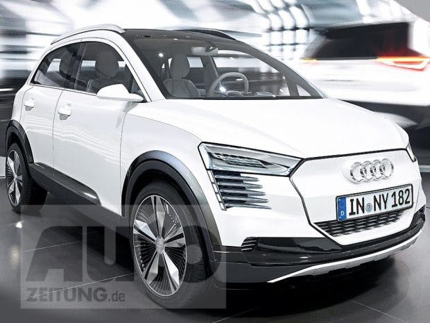 Der Audi Metro könnte laut Autozeitung 2019 erscheinen. Foto: Autozeitung)