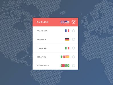 Screenshot: Dribbble