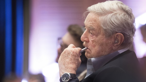 Hedgefond-Manager George Soros investiert 500 Millionen Dollar in Flüchtlinge