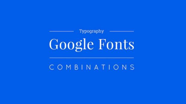 15 Google-Fonts-Kombinationen, die dein Webprojekt aufpeppen