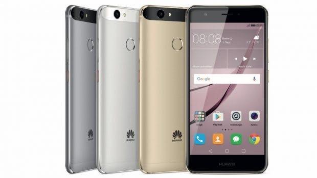 Das Huawei Nova ist ein kompakter Fünfzoller. (Bild Huawei)