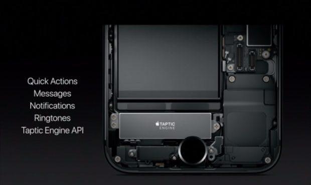 Der Homebutton des iPhone 7 erhält diverse neue Funktionen. (Bild: Apple)