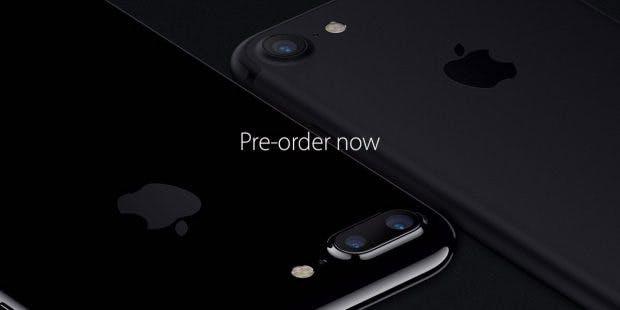 Das iPhone 7 kann ab heute vorbestellt werden. (Bild: Apple)