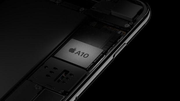 Der neue Chip im iPhone 7 und iPhone 7 Plus sorgt für ordentlich Performance. (Screenshot: Apple)