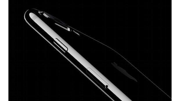 Die neue Farbe Diamantschwarz sieht zwar schick aus, ist aber sehr anfällig für Fingerabdrücke und Kratzer. (Screenshot: Apple)