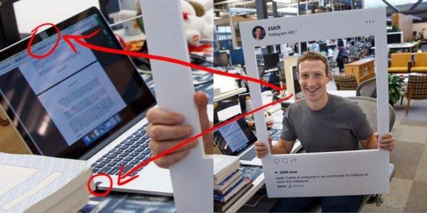 Mark Zuckerberg wurde im Sommer noch für das Klebeband über der Webcam verspottet. (Foto: 9to5Mac)