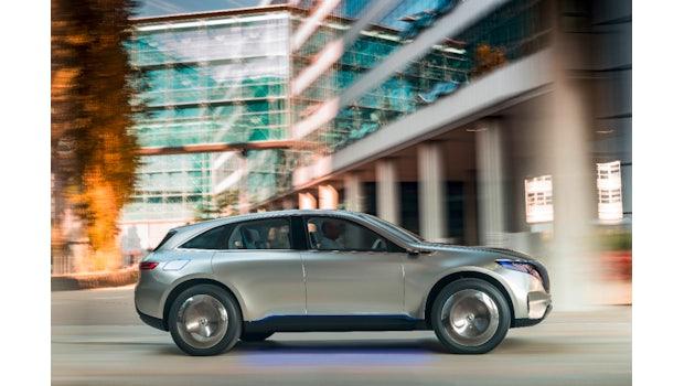 Generation EQ, Exterieur. (Foto: Daimler)
