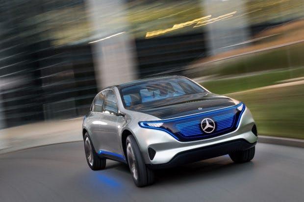 Daimler forciert mit der neuen Marke EQ und zehn Milliarden Euro an Investitionen die Elektroauto-Zukunft. (Foto: Daimler)
