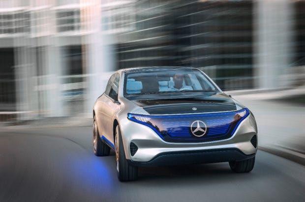 Mt der EQ-Serie will Autohersteller Daimler in den Elektroautomarkt einsteigen. (Foto: Daimler)
