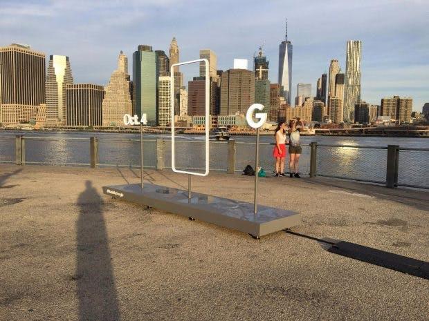 Made by Google Werbung in New York. (Foto: Imgur)