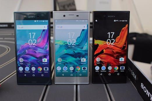 Sony Xperia XZ und X Compact: Neue Kamera-Smartphones mit runderem Design